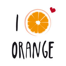 I LOVE Orange by neronera