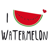 I LOVE Watermelon by neronera
