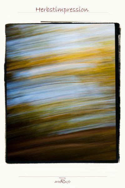 Herbstimpression-poster