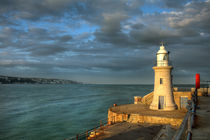 Folkestone Lighthouse by Alice Gosling