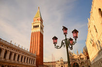 San Marco square on sunset, Venice, Italy von Tanja Krstevska