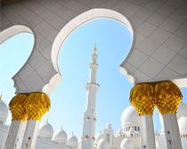 Sheikh Zayed Mosque in Abu Dhabi, UAE by tkdesign