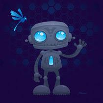 Waving Robot von John Schwegel