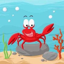 Krabbe von Michaela Heimlich