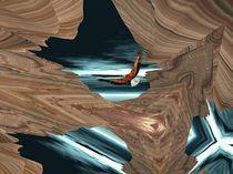 An Eagle Flies Through It von Pat Goltz