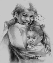 """PROTECT OUR CHILDREN Series - Nepal von Priscilla Tang"