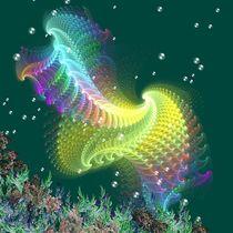 School of Manta Rays by Pat Goltz