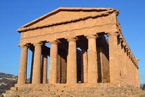 Sizilien, griechischer Tempel von sandarine