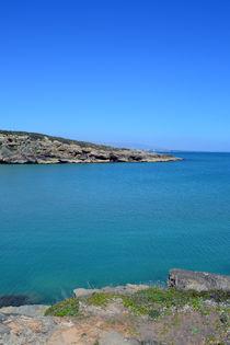 Sizilien, Mittelmeer Panorama von sandarine