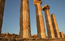 Sizilien, griechische Säulen von sandarine