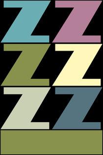 """Z-Artwork """"Pollerazur"""" von Yvonne Schüttler"""