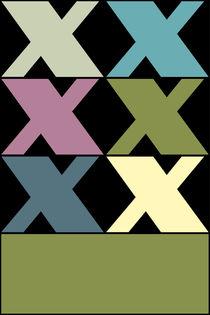 """X-Artwork """"Pollerazur"""" von Yvonne Schüttler"""