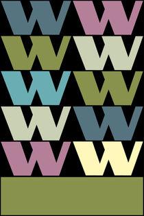"""W-Artwork """"Pollerazur"""" von Yvonne Schüttler"""