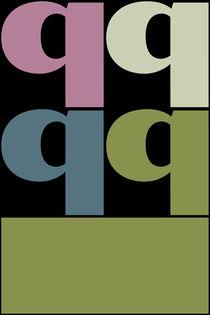 """Q-Artwork """"Pollerazur"""" von Yvonne Schüttler"""