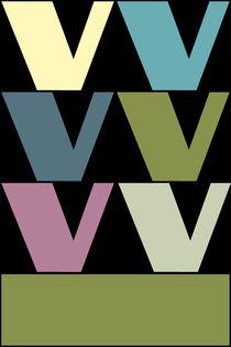 """V-Artwork """"Pollerazur"""" von Yvonne Schüttler"""