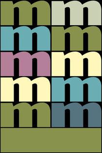 """M-Artwork """"Pollerazur"""" von Yvonne Schüttler"""