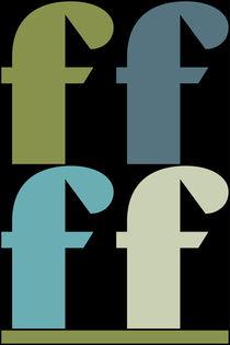 """F-Artwork """"Pollerazur"""" von Yvonne Schüttler"""