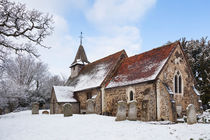 Church in Winter von Graham Prentice