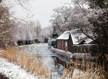 Winter River Scene von Graham Prentice