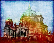 Berliner Dom Poster by Lutz Baar