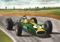 Jim Clark (natural born racer) by Chris Cox
