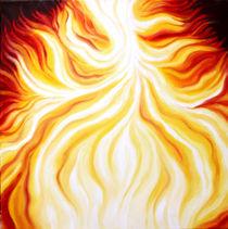 THE FIRE FALLS / DAS FEUER FÄLLT von Sandra Yegiazaryan
