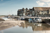 Blakeney Quayside von Stephen Mole