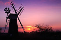 Turf Fen Sunset by Stephen Mole
