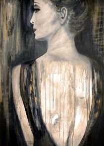 woman by lamade