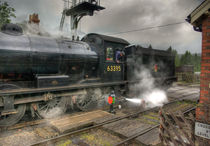 Steam Train at Levisham by tkphotography
