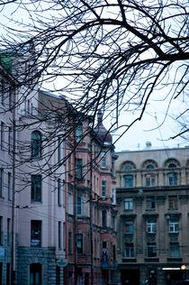 Houses in modernist style, Russia von yulia-dubovikova