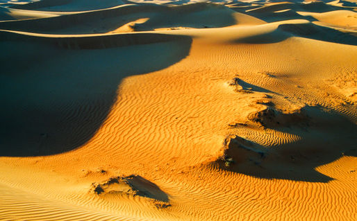 Desertevening