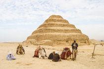 Stepped Pyramid at Sakkara by Graham Prentice