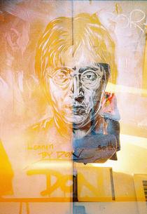 Abstract J Lennon by Giorgio Giussani