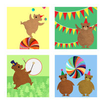 Circus Bears by Abby Rampling