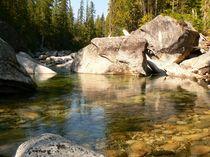 Granby River, British Columbia, Kanada  by Jutta Ploessner