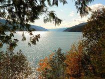 Herbststimmung am See von Jutta Ploessner
