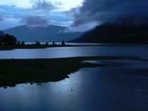 Abendstimmung am See by Jutta Ploessner