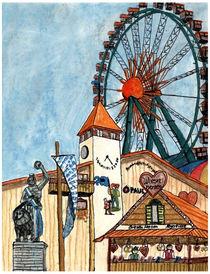 Münchner Wiesn von Marie Luise Strohmenger