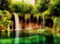 Plitvicer Seen Kroatien von Elke Balzen
