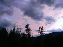 Abendwolken by Jutta Ploessner