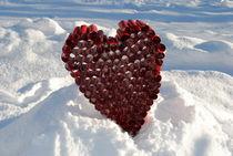 Herz im Schnee von tinadefortunata