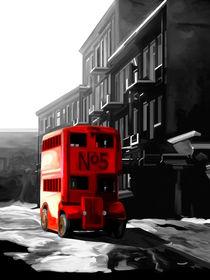 London Red Bus von Trevor Butcher