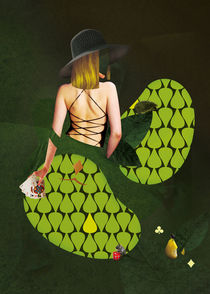 Women - green by Céline TEITEN