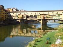 Ponte Vecchio a  Firenze  by Azzurra Di Pietro