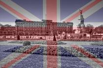 Buckingham Palace Union Jack Flag
