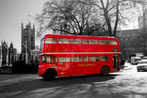 London Red Routemaster Bus by David J French