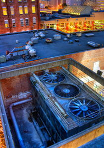 Rooftops of Atlanta von William Twitty