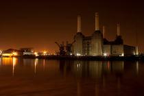 Battersea Power Station Night von deanmessengerphotography