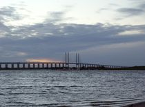Öresund Bridge, Sweden  by Sarah Osterman